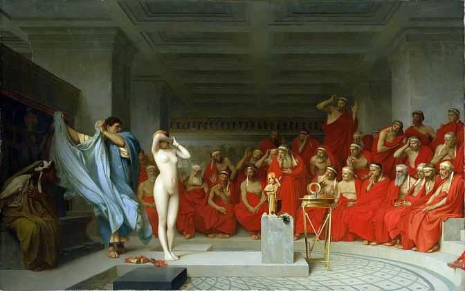 Phrynê au XIXe siècle (2) : Gérôme