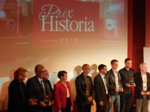 les lauréats des différents prix