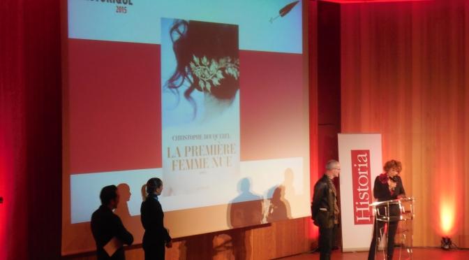 Le prix du roman historique Historia 2015
