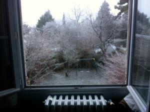 matin de neige